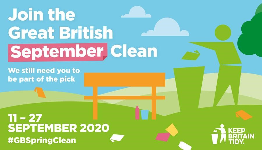 Keep Britain Tidy - Great British Spring Clean postponed to September 2020