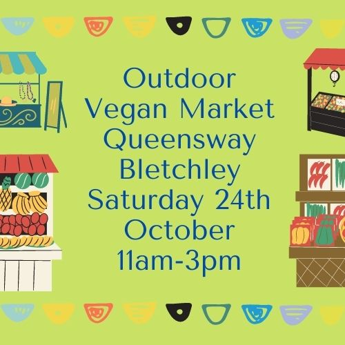 Image of Outdoor Vegan Market poster