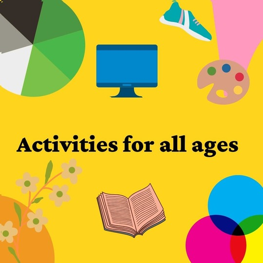 Image of activities for all ages at home image