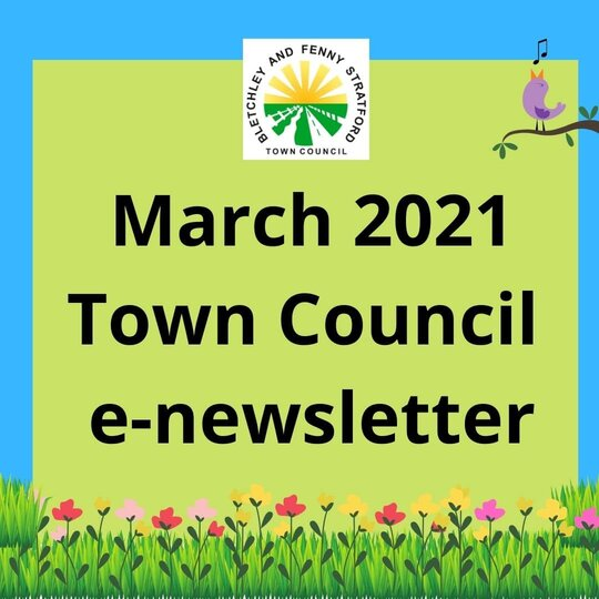 Image of March e-newsletter poster