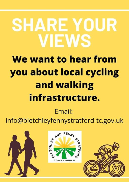 Image of Share your views on local infrastructure poster